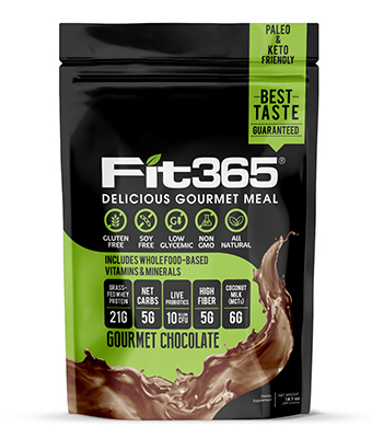 FIT 365 VIP Shake Club (Gourmet Chocolate)